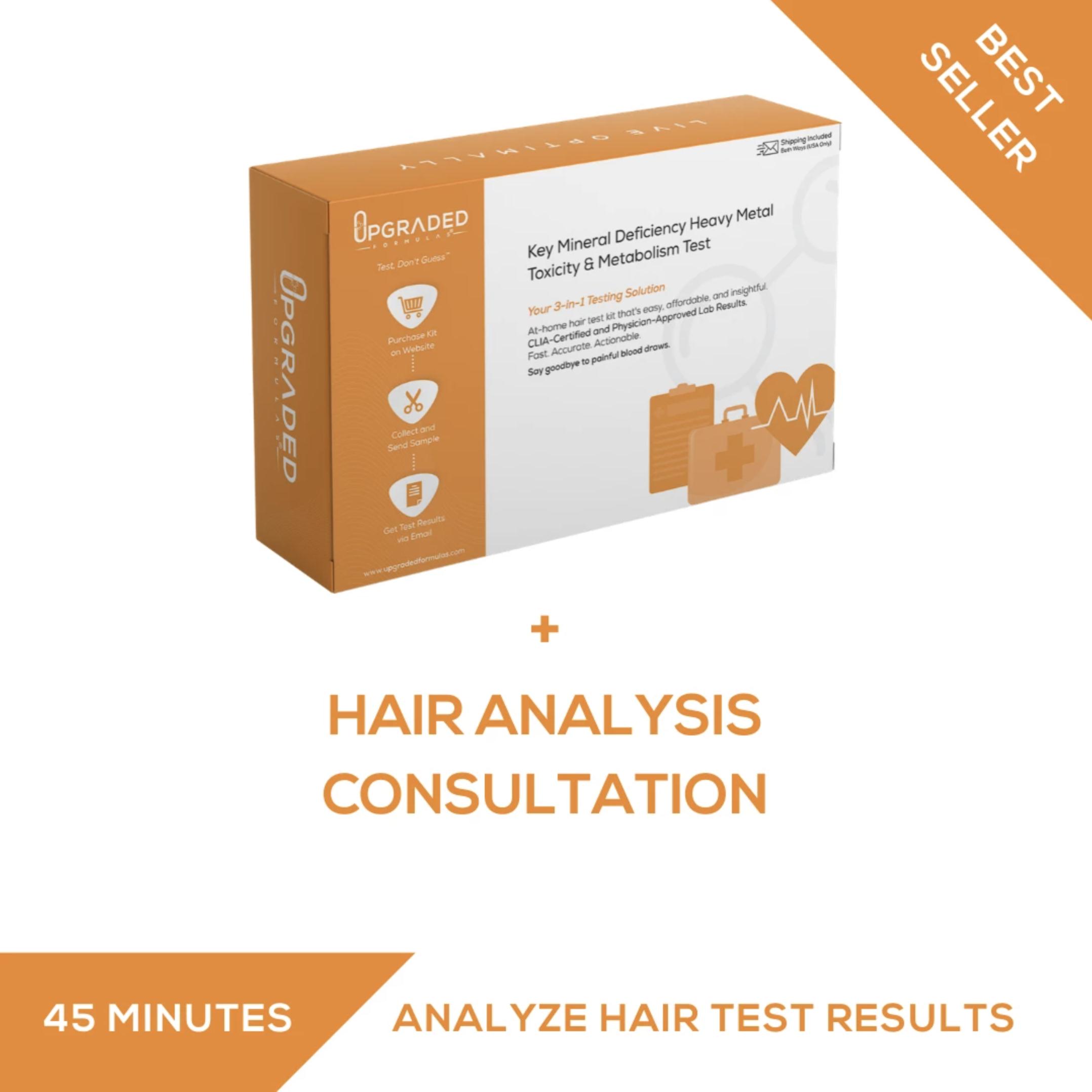 Hair Tissue Mineral Analysis | Upgraded Formulas