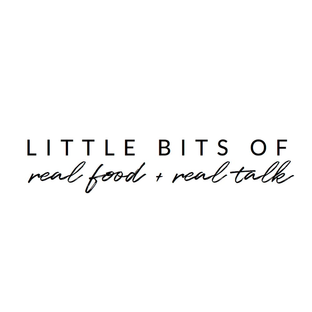 Little Bits Of Real Food Website _ Logo