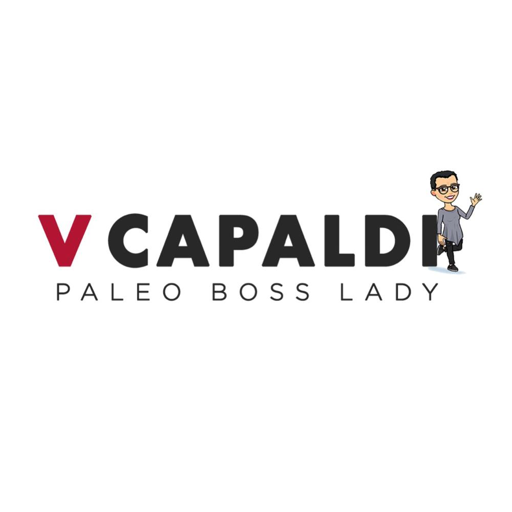 Paleo Boss Lady (V Capaldi) Website _ Logo