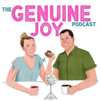 The Genuine Joy Podcast _ Logo