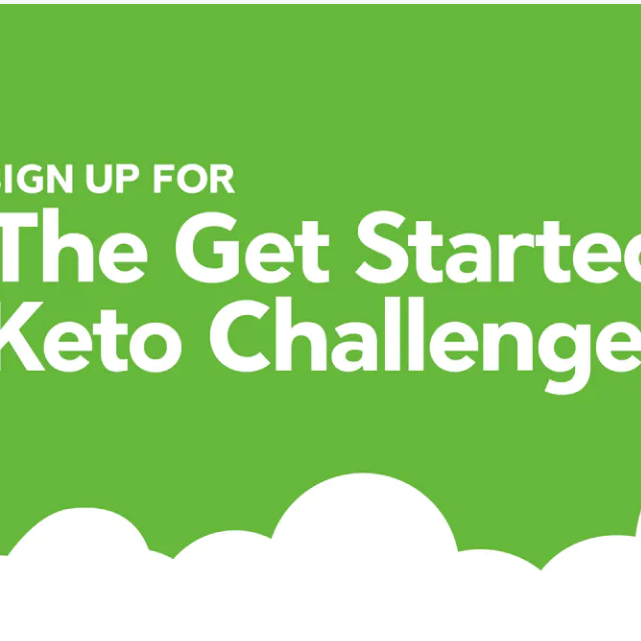 The Get Startedd Keto Challenge 2020 (Diet Doctor)